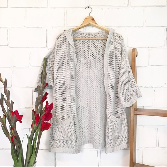 Urban Outfitters Sweaters Uo Ecote Crochet Cardigan Poshmark